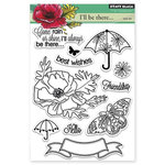 Penny Black - Clear Acrylic Stamps - Come Rain Or Shine