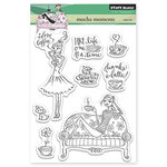 Penny Black - Clear Acrylic Stamps - Mocha Moments