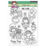 Penny Black - Clear Acrylic Stamps - Happy Days