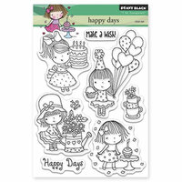 Penny Black - Clear Photopolymer Stamps - Happy Days