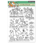 Penny Black - Clear Acrylic Stamps - Woodland Friends