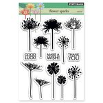 Penny Black - Clear Acrylic Stamps - Flower Sparks