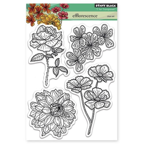 Penny Black - Clear Photopolymer Stamps - Efflorescence