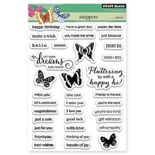 Penny Black - Clear Photopolymer Stamps - Snippets