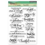 Penny Black - Clear Acrylic Stamps - Heartfelt