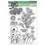 Penny Black - Clear Acrylic Stamps - Pretty Petals