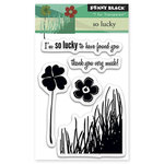 Penny Black - Clear Acrylic Stamps - So Lucky