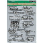 Penny Black - Clear Photopolymer Stamps - Sprinkles and Smiles