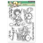 Penny Black - Clear Acrylic Stamps - Stitches