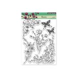 Penny Black - Clear Acrylic Stamps - Florets
