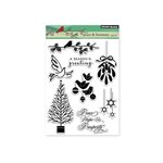Penny Black - Christmas - Clear Acrylic Stamps - Peace and Harmony