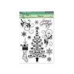 Penny Black - Christmas - Clear Acrylic Stamps -Filigrees