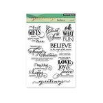 Penny Black - Christmas - Clear Acrylic Stamps - Believe
