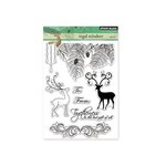 Penny Black - Christmas - Clear Acrylic Stamps - Regal Reindeer
