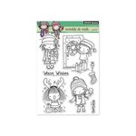 Penny Black - Christmas - Clear Acrylic Stamps -Twinkle and Wish