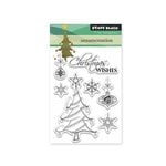Penny Black - Christmas - Clear Acrylic Stamps - Ornamentation