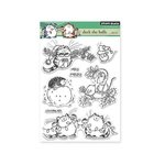 Penny Black - Christmas - Clear Acrylic Stamps - Deck The Halls