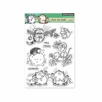 Penny Black - Christmas - Clear Photopolymer Stamps -Deck The Halls