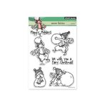 Penny Black - Christmas - Clear Acrylic Stamps - Snow Fairies