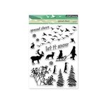 Penny Black - Christmas - Clear Acrylic Stamps - Spread Cheer