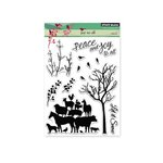 Penny Black - Christmas - Clear Acrylic Stamps - Joy To All
