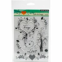 Penny Black - Clear Photopolymer Stamps - Love and Hugs