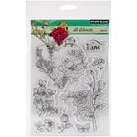Penny Black - Clear Acrylic Stamps - All Abloom
