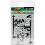 Penny Black - Clear Acrylic Stamps - Tweeting Love