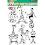Penny Black - Clear Acrylic Stamps - Paris Love