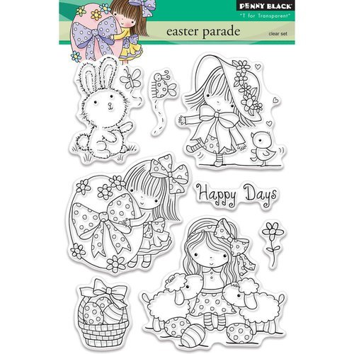 Penny Black - Clear Photopolymer Stamps - Easter Parade
