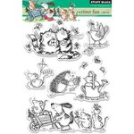 Penny Black - Clear Acrylic Stamps - Critter Fun