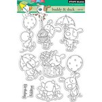 Penny Black - Clear Acrylic Stamps - Buddy and Duck