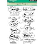 Penny Black - Clear Acrylic Stamps - Special Thoughts