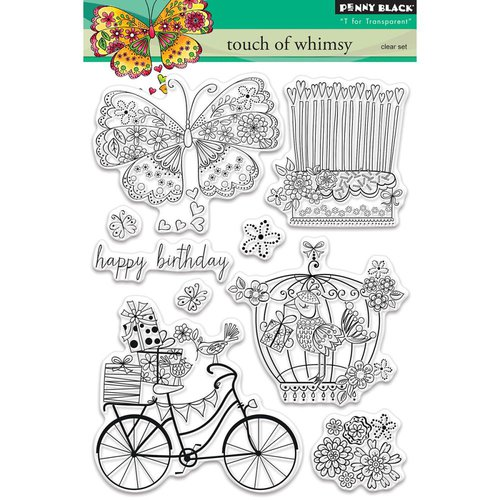 Penny Black - Clear Photopolymer Stamps - Touch Of Whimsy