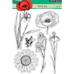 Penny Black - Clear Acrylic Stamps - Love Art