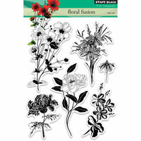Penny Black - Clear Photopolymer Stamps - Floral Fusion