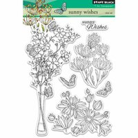 Penny Black - Clear Photopolymer Stamps - Sunny Wishes