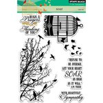 Penny Black - Clear Acrylic Stamps - Soar