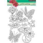 Penny Black - Clear Acrylic Stamps - Perfect Pairing