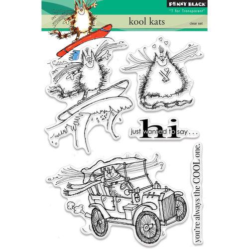 Penny Black - Clear Photopolymer Stamps - Kool Kats
