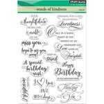 Penny Black - Clear Photopolymer Stamps - Words Of Kindness