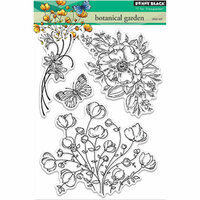 Penny Black - Clear Photopolymer Stamps - Botanical Garden