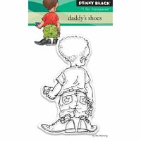 Penny Black - Clear Photopolymer Stamps - Daddy's Shoes