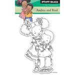 Penny Black - Clear Acrylic Stamps - Andrea and Raul