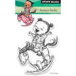 Penny Black - Clear Acrylic Stamps - Bronco Becky