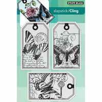 Penny Black - Cling Mounted Rubber Stamps - Butterfly Party