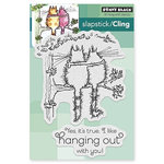 Penny Black - Cling Mounted Rubber Stamps - Hanging Out