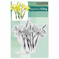 Penny Black - Cling Mounted Rubber Stamps - Daffodil Dance