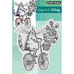 Penny Black - Cling Mounted Rubber Stamps - Sweet Delivery