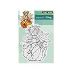 Penny Black - Cling Mounted Rubber Stamps - Pumpkin Ride